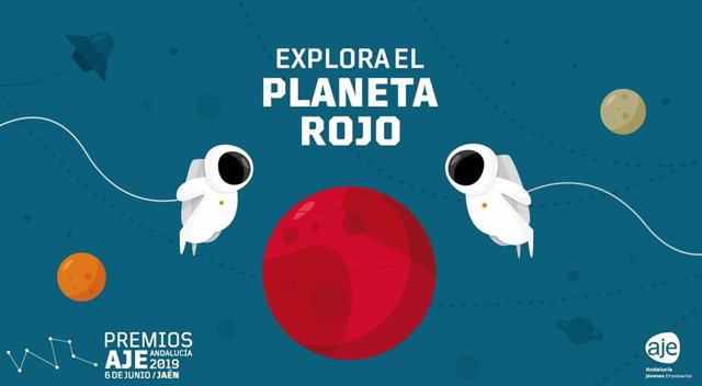 Cartel de los Premios AJE Andalucía 2019