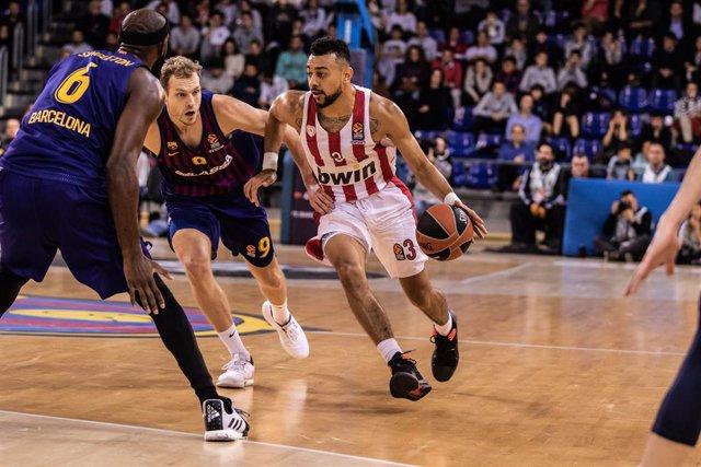 Basket: EuroLeague - FC Barcelona Lassa v Olympiacos Piraeus