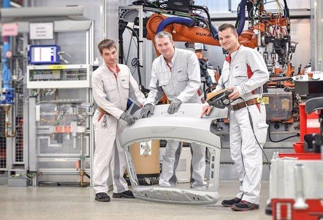 Audi ahorra 110 millones de euros gracias a propuestas de mejoras de sus emplead