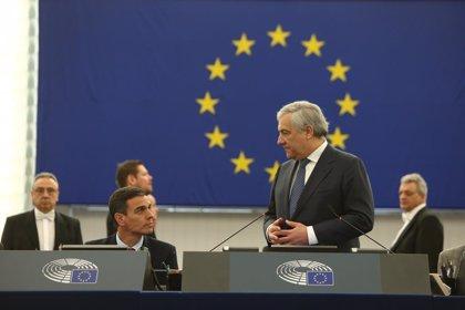 """Tajani atribuye a """"falta de coraje"""" que algunos países de la UE aún no hayan reconocido a Guaidó"""