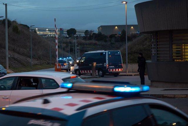 Trasllat a Madrid dels presos independentistes