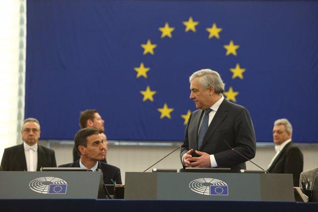 Intervención del Presidente del Gobierno en el Pleno del Parlamento Europeo