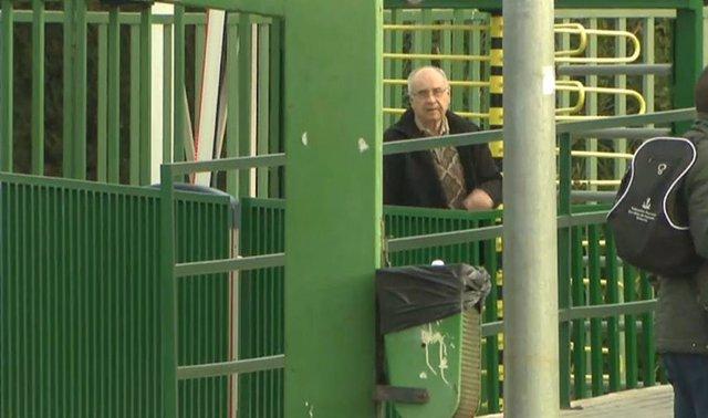 El exconseller Rafael Blasco a su salida de la cárcel de Picassent (Valencia)
