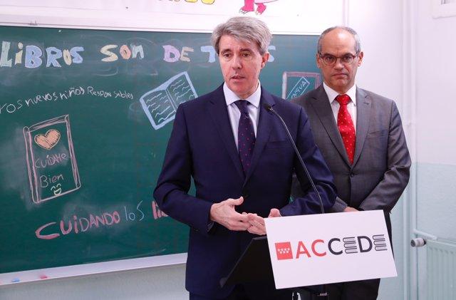 El presidente de la Comunidad de Madrid, Ángel Garrido, presenta una campaña