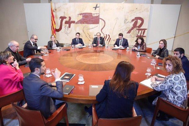 Consell Executiu extraordinari pel trasllat dels presos sobiranistes a Madrid
