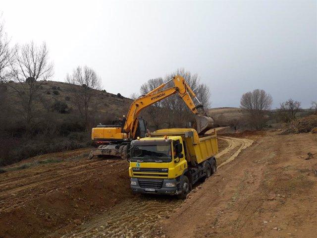 La DPZ acondiciona más de 2.900 kilómetros de caminos agrícolas en 2018