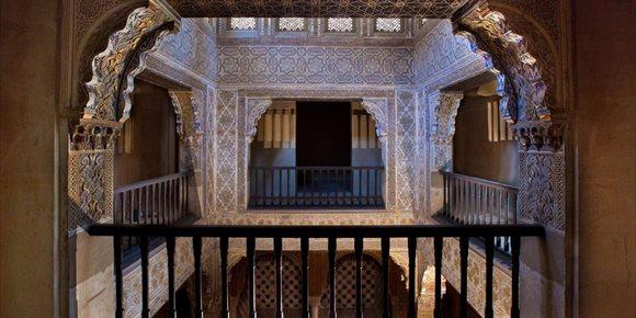 9. La Alhambra abre al público la planta superior del Baño Real de Comares