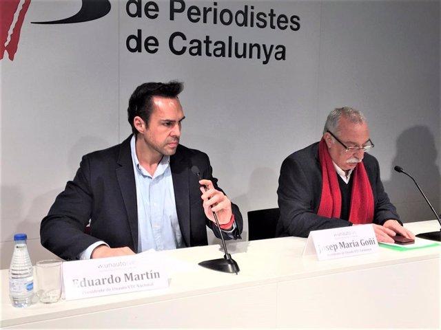 Eduardo Martin (Unauto VTC), Josep Maria Goñi (Unauto VTC Catalunya)