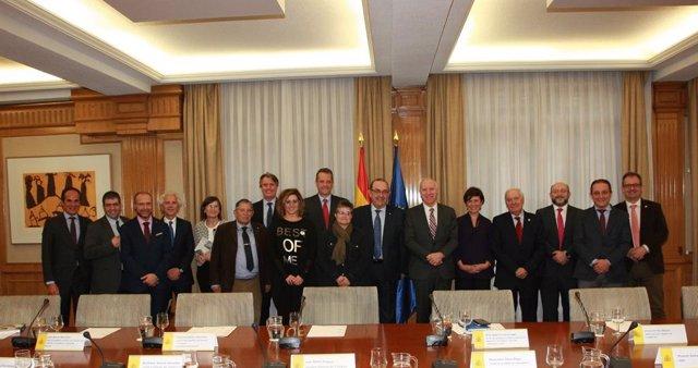 Reunión de Cronicidad: Horizonte 2025 con el secretario general de Sanidad, Faus