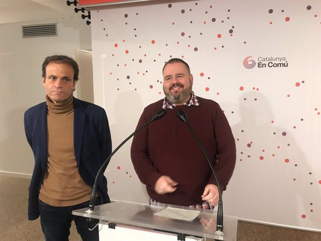 Joan Mena i Jaume Asens (CatComú)