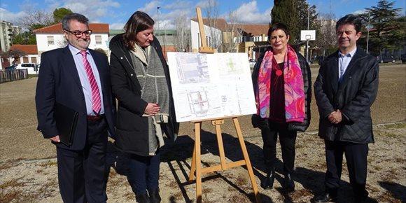 5. La urbanización del solar de la antigua cárcel de Huesca saldrá a concurso en tres semanas