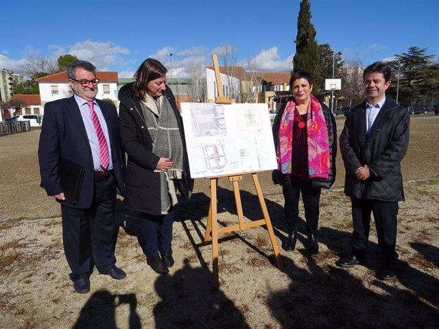 Mercedes Gallizo ha visitado Huesca