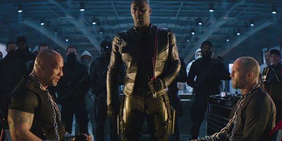 1. Bestial tráiler de Hobbs & Shaw: Dwayne Johnson y Jason Statham contra super-Idris Elba en el spin-off de Fast & Furious