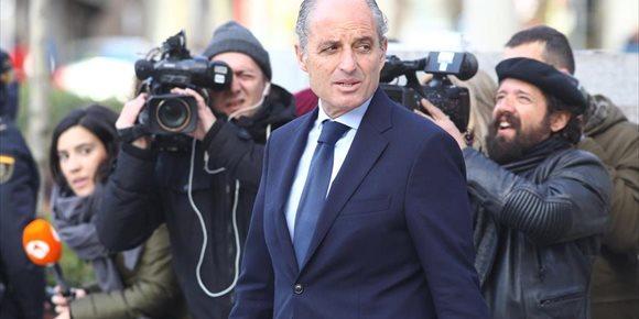 3. Camps niega ante el juez cualquier implicación con la contratación de Gürtel en Valencia