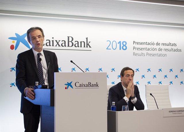 Presentació a València dels resultats del 2018 de CaixaBank