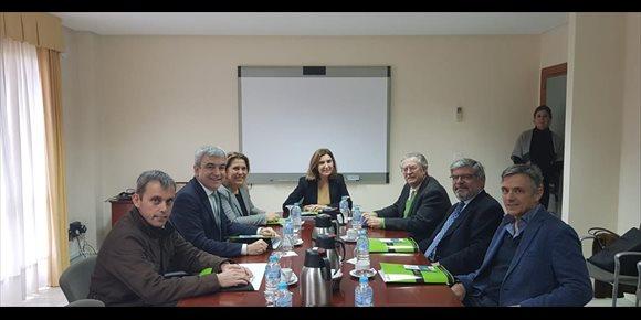 1. Rocío Blanco realiza en Málaga su primera visita como consejera de Empleo al Parque Tecnológico de Andalucía