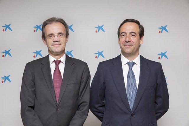 Jordi Gual i Gonzalo Gortázar (CaixaBank)