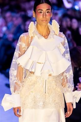 La diseñadora María Lafuente lanza una colección de moda elaborada con fibras de origen forestal con certificado PEFC