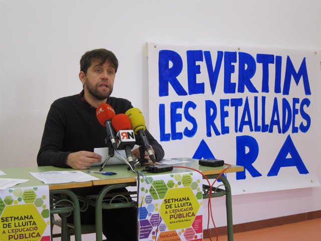 Presentació dels tancaments de l'Assemblea Treballadors de l'Educació Pública