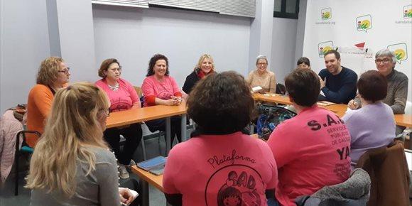9. IU recoge las reivindicaciones de las trabajadoras de ayuda a domicilio de Dos Hermanas