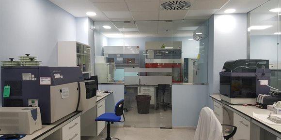 1. El Hospital Universitario Reina Sofía de Córdoba invierte en 2018 más de 1,6 millones en obras