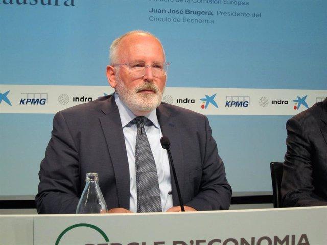 Frans Timmermans, vicepresident primer de la Comissió Europea