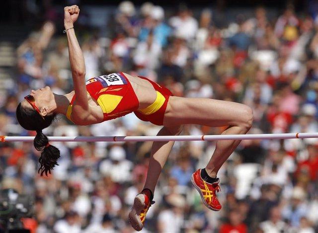 Beitia gana bronce olímpico en Londres 2012 tras la descalificación de  Shkolina