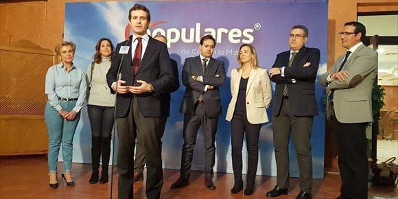 2. Casado pide a Sánchez que impida el regreso a Cataluña de los presos independentistas
