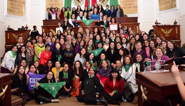 Parlamento de mujeres CDMX