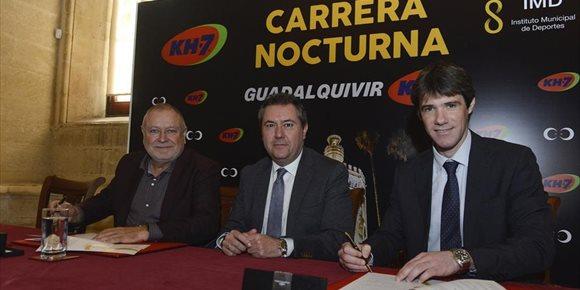 10. La Nocturna del Gualdalquivir de Sevilla renueva el convenio de patrocinio con KH-7 para la edición de 2019