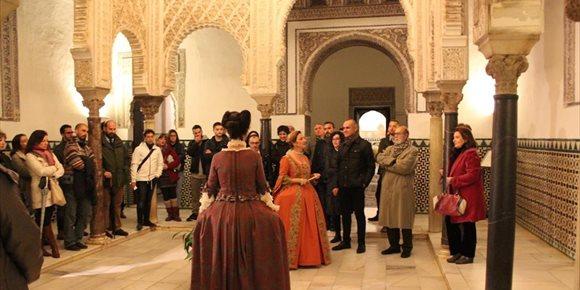 9. El Alcázar de Sevilla dedicará sus visitas teatralizadas de 2019 y 2020 al V Centenario de la Primera Vuelta al Mundo
