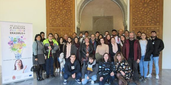 4. Arranca el proyecto 'Granada FP Erasmus' que permitirá a 50 jóvenes hacer prácticas en empresas europeas