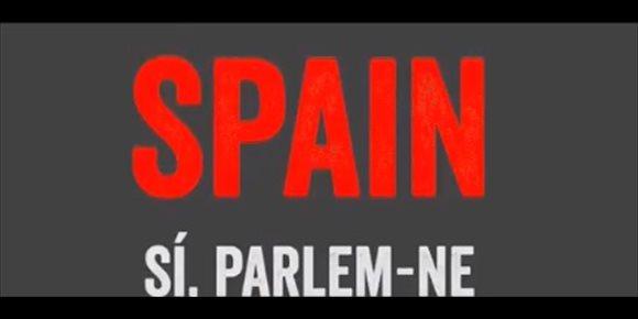 10. Òmnium responde al vídeo de Exteriores con otro en el que critica la democracia española