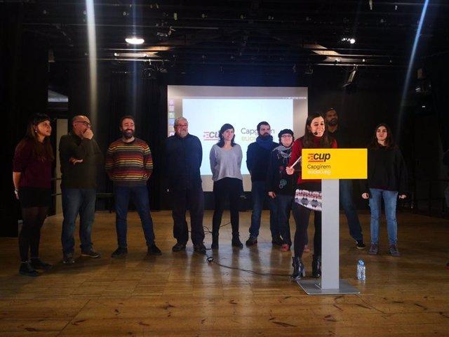 Elecció de candidats de la CUP a Barcelona per a les eleccions municipals de