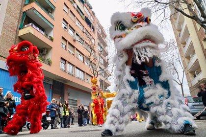 Barcelona dona la benvinguda a l'Any Nou xinès del porc