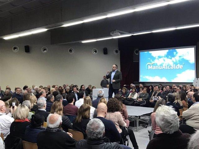 El president del PP catal, Alejandro Fernández