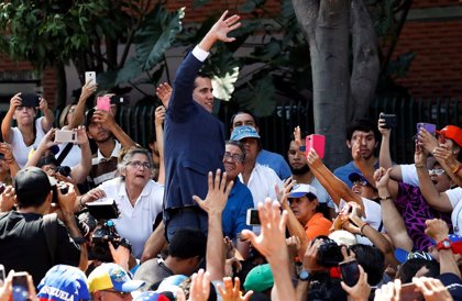 """Guaidó anuncia una """"coalición internacional por la ayuda humanitaria y la libertad de Venezuela"""""""