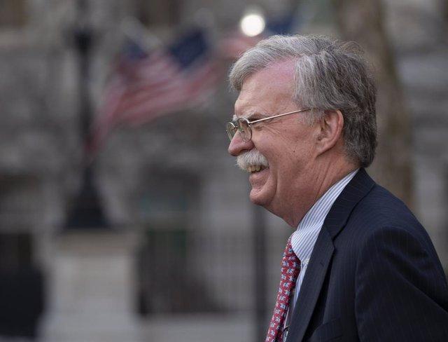 El asesor de Seguridad Nacinoal de la Casa Blanca, John Bolton