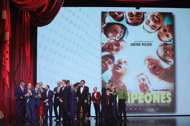 Campeones, mejor película en los Goya 2019