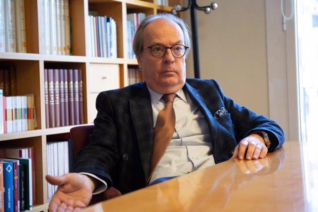 Entrevista d'Europa Press al nou president del Consell de l'Advocacia Catala