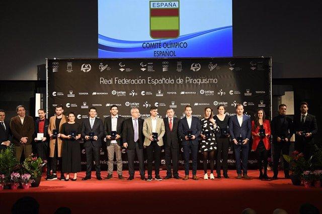 El piragüisme espanyol celebra la seva gala anual com el millor esport dels últi