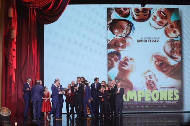 Más de 3,8 millones de espectadores siguieron la gala de los Premios Goya,  mejor cuota (26,2%) en 9 años
