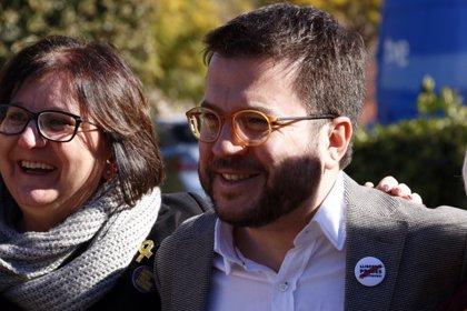 """Aragonès reclama al govern espanyol un """"compromís clar"""" per acabar amb la """"impunitat contra l'independentisme"""""""