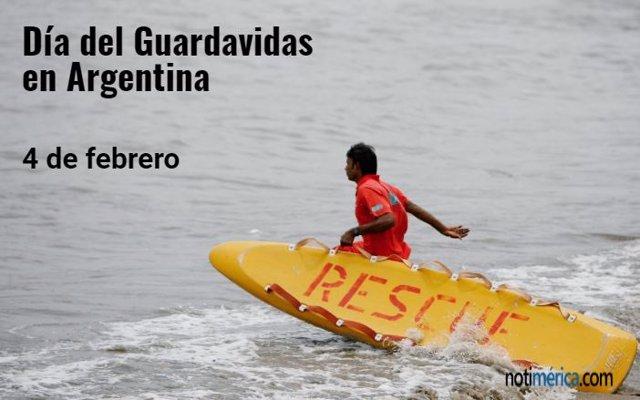 DÍA DEL GUARDAVIDAS EN ARGENTINA