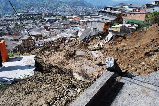 Deslizamiento de tierras