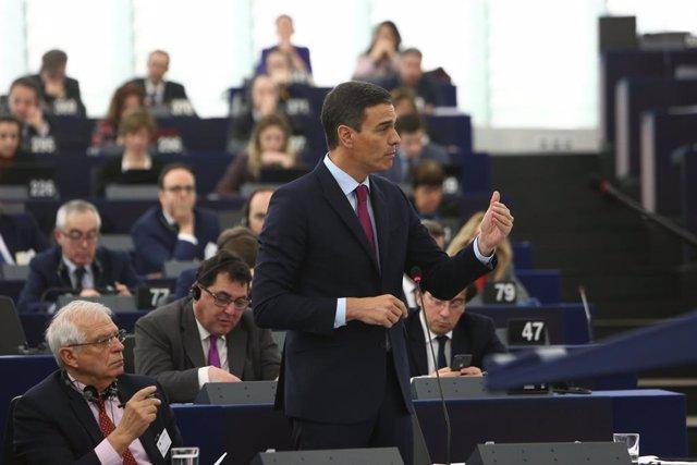 Intervenció del President del Govern en el Ple del Parlamento Europeu
