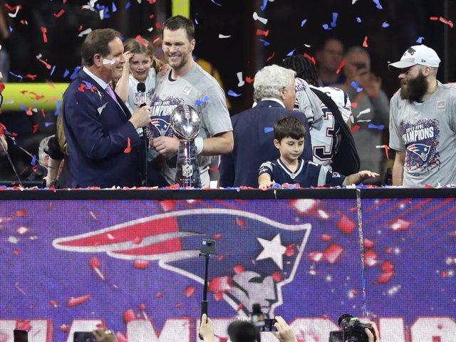 Tom Brady, jugador dels New England Patriots