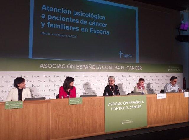 Presentación del Observarorio del Cáncer de la Asociación Española Contra el Cán