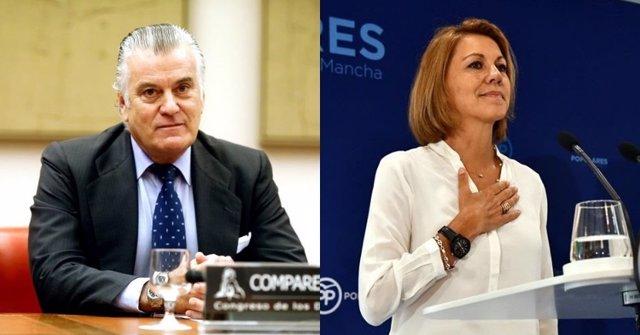Luis Bárcenas i María Dolores de Cospedal