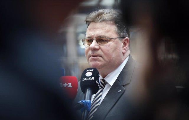 El ministro de Exteriores de Lituania, Linas Linkevicius